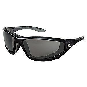 MCR Safety REAPER  Anti-Fog, Scratch-Resistant Safety Glasses, Gray Lens Color