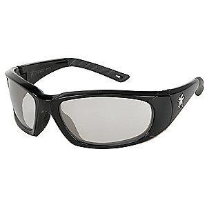MCR Safety ForceFlex Anti-Fog, Scratch-Resistant Safety Glasses, Indoor/Outdoor Mirror Lens Color