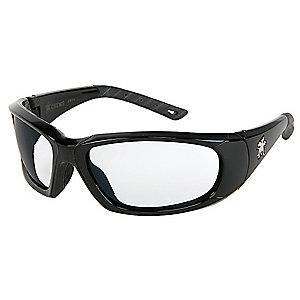 MCR Safety ForceFlex Anti-Fog, Scratch-Resistant Safety Glasses, Clear Lens Color