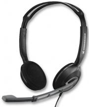 Sennheiser Multimedia PC Headset with Noise Cancelling Microphone - Black