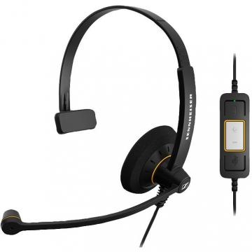 Sennheiser SC 30 USB ML Monaural Noise Cancelling Telephone Headset