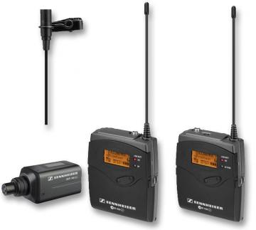 Sennheiser Portable Wireless Clip-On Microphone System