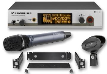 Sennheiser Wireless Handheld Microphone System, CH38 (Super-Cardioid Dynamic)