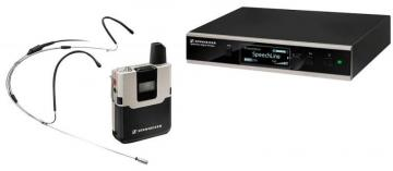Sennheiser Wireless Headset Microphone Set with Rack Kit