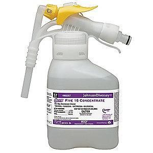 Diversey Cleaner and Disinfectant, 1.5L Hose End Sprayer