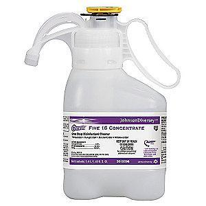 Diversey Cleaner and Disinfectant, 1.4L Smart Dose Bottle