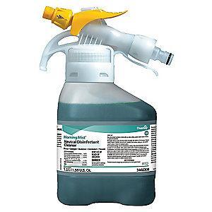 Diversey Neutral Disinfectant Cleaner, 1.5L Hose End Sprayer