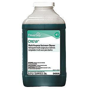 Diversey Multi Purpose Bathroom Cleaner, For Use With J-Fill QuattroSelect Portion Control, 2 PK