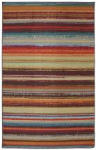Mohawk 60-inch x 96-inch Avenue Stripe Outdoor Patio Rug