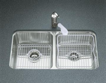 Kohler Undertone Double Equal Undercounter Kitchen Sink