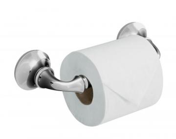 Kohler Forté Sculpted Toilet Tissue Holder in Polished Chrome