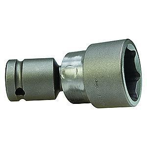 "Apex Impact Flex Socket, Std., 1/2"" Drive, 1-1/16"""
