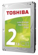 "Toshiba E300 Low Energy 3.5"" Internal Hard Drive SATA 6GB/s - 2TB, 5700RPM"