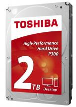 "Toshiba P300 3.5"" Internal Hard Drive SATA 6GB/s - 2TB, 7200RPM"