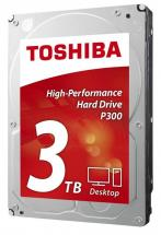 "Toshiba P300 3.5"" Internal Hard Drive SATA 6GB/s - 3TB, 7200RPM"