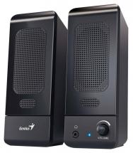 Genius SP-U120 2.0 PC Speakers 3W - USB Powered Black