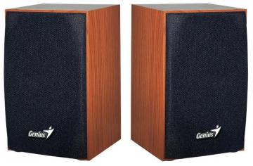 Genius SP-HF160 2.0 PC Speakers 4W - USB Powered Wood