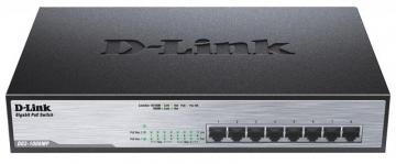 D-link 8 Port Gigabit Max PoE Unmanaged Desktop Switch