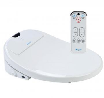 Brondell White Elongated Heated Bidet Toilet Seat-S900