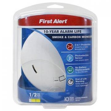 First Alert Smoke/CO Alarm, 10-Year