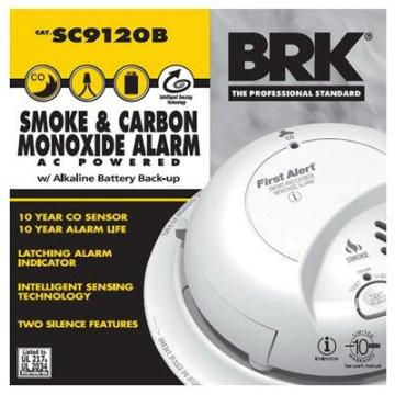 First Alert Smoke/CO Alarm, AC/DC