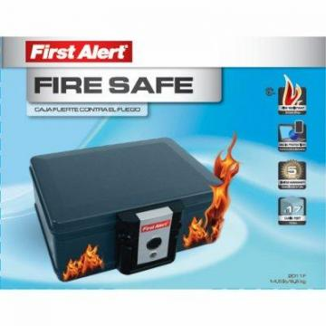 First Alert Fire Protector Chest, 0.17-Cu. Ft.