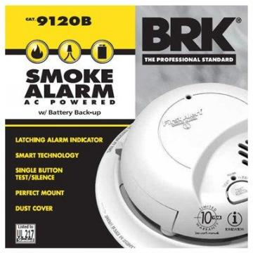 First Alert Smoke Alarm, AC Hardwired, 6-Pack