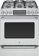 GE Café 5.4 cu. ft. Free-Standing Dual-Fuel Convection Range With Baking Drawer