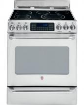 GE Café 5.0 cu. ft. Free-Standing Electric Self-Cleaning Convection Range in Stainless Steel