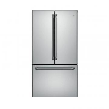 GE 23.1 cu. ft. Counter-Depth French-Door Refrigerator with Internal Water Dispenser