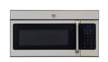 GE Cafe 1.6 cu. ft. Over-the-Range Microwave Oven in Stainless Steel