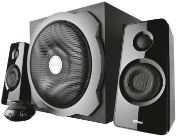 Trust Tytan 120W 2.1 Subwoofer Speaker Set - Black