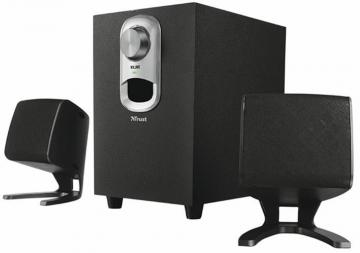 Trust Talos 40W 2.1 Subwoofer Speaker Set - Black