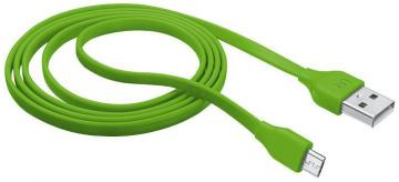 Trust 1m Lime Flat Micro USB Cable