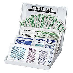 First Aid Only First Aid Kit,  Plastic Case Material, Vehicle, 10 People Served Per Kit