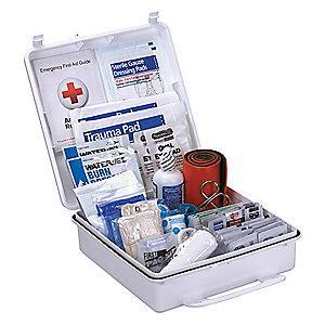 First Aid Only First Aid Kit,  Plastic Case Material, General Purpose, 50 People Served Per Kit