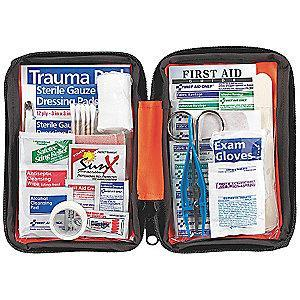First Aid Only First Aid Kit,  Nylon Case Material, Outdoors, 1 People Served Per Kit