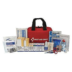 First Aid Only First Aid Kit,  Fabric Case Material, General Purpose, 50 People Served Per Kit