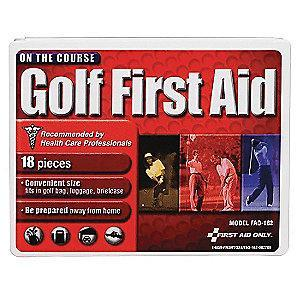 First Aid Only First Aid Kit,  Plastic Case Material, Sports, 5 People Served Per Kit