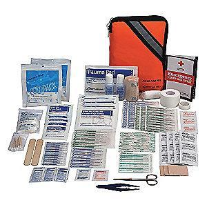 First Aid Only First Aid Kit,  Fabric Case Material, Sports, 50 People Served Per Kit