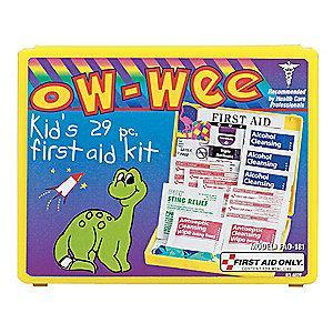 First Aid Only First Aid Kit,  Plastic Case Material, Children Care, 5 People Served Per Kit