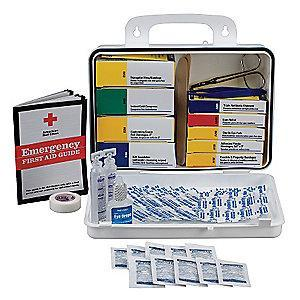 First Aid Only First Aid Kit,  Plastic Case Material, Workplace, 25 People Served Per Kit