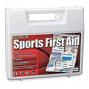 First Aid Only First Aid Kit,  Plastic Case Material, Sports, 15 People Served Per Kit