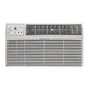Frigidaire 208/230V Electric Wall Air Conditioner w/Heat, 11,700/12,000 BtuH Cooling, Cool Gray