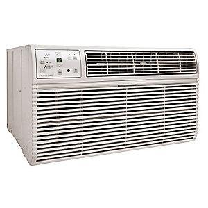 Frigidaire 208/230V Electric Wall Air Conditioner w/Heat, 13,600/14,000 BtuH Cooling, Cool Gray