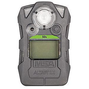 MSA Gas Detector,Gray,SO2,0.20 ppm