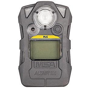 MSA Gas Detector,Gray,H2S,0 to 100 ppm