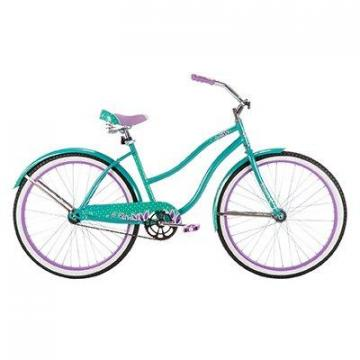 Huffy Ladies' Good Vibrations Bicycle, Pearl Mint Green, 26""