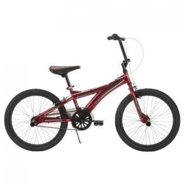 Huffy Boys' Spectre Bike, Matte Chrome Red, 20""