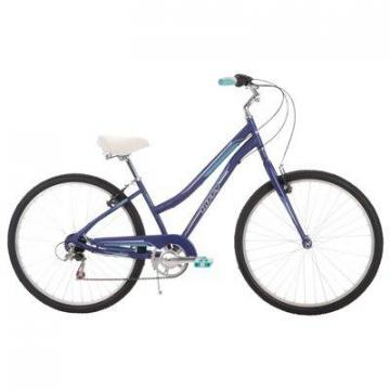 Huffy Women's Parkside City Bike, Matte Midnight Purple, 26""